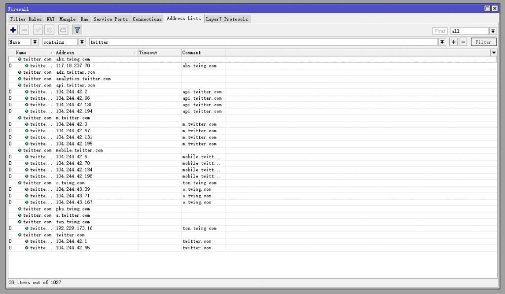 ip.firewall.addresslist